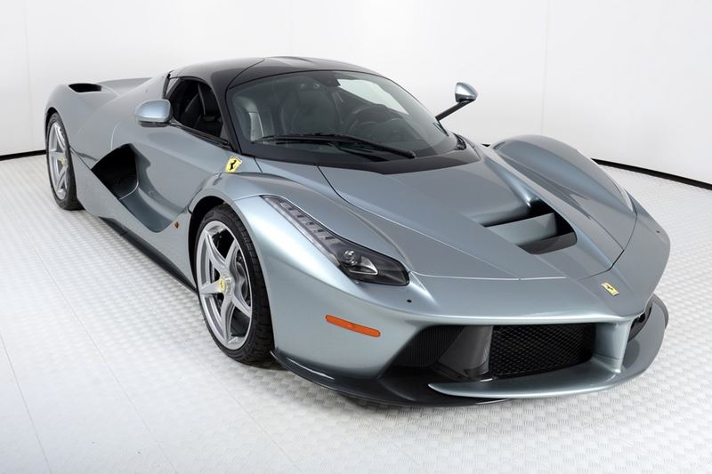 is this silver laferrari worth 4 million. Black Bedroom Furniture Sets. Home Design Ideas