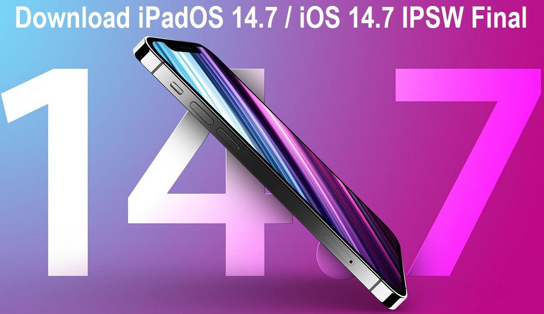Download iOS 14.7.1 IPSW Final