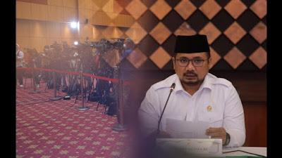 Menag: Masih Pandemi, Pemerintah Tidak Berangkatkan Jemaah Haji 1442 H