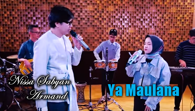Nissa Sabyan, Lagu Religi, Download Lagu Nissa Sabyan Ft Armand Ya Maulana Mp3