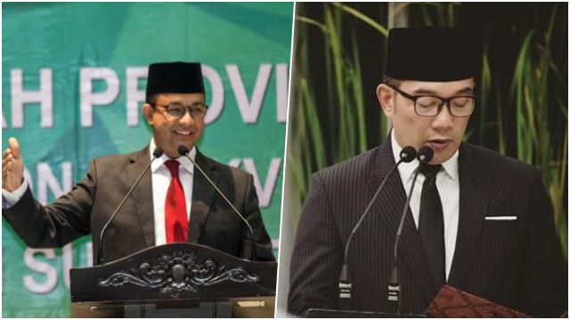 Anies dan Ridwan Kamil Saling Beri Ucapan Selamat WTP, Kode Menuju Pilpres 2024?