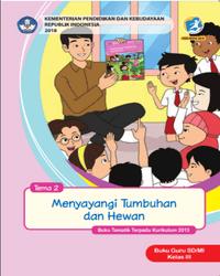 Buku tema 2 Guru Kelas 3 K13 2018