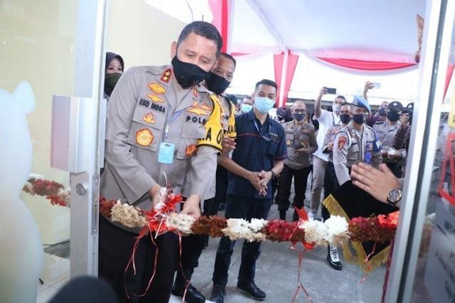 Mantap, Kapolda Sumsel Irjen Pol Prof Dr Eko Indra Heri S M.M Resmikan PDK Mart