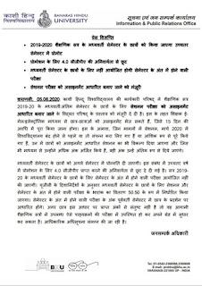 BHU : विद्यार्थियों को असाइनमेंट भेज सकते हैं शिक्षक, प्रस्ताव मंजूर | #NayaSaveraNetwork