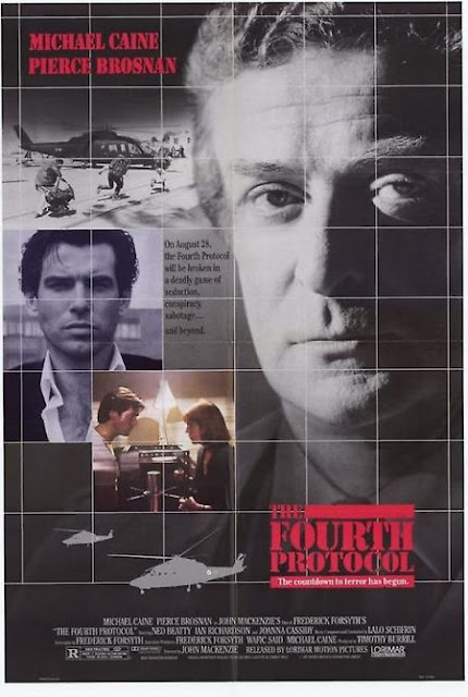 US one sheet poster for The Fourth Protocol