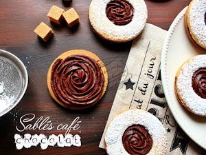 Sablés café et chocolat