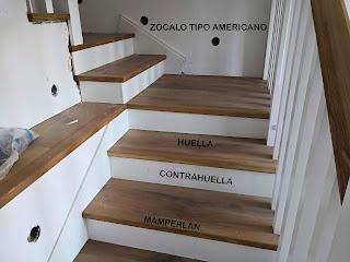 poner parquet en unas escaleras
