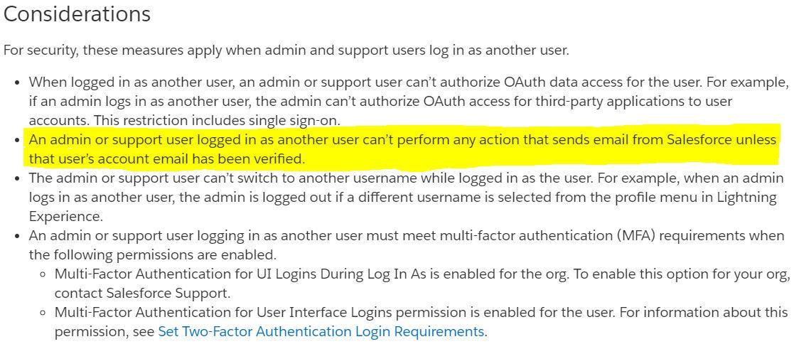 Login Access Salesforce Lightning