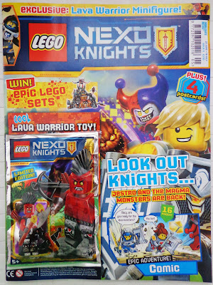 LEGO Nexo Knights Magazine Issue 05