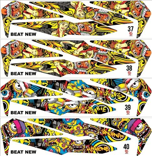 Striping New Beat 2017 custom desain