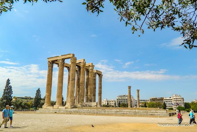 Atenas: Templo de Zeus Olímpico