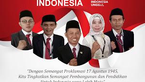 DIRGAHAYU REPUBLIK INDONESIA ke 74 th -MENUJU INDONESIA UNGGUL-