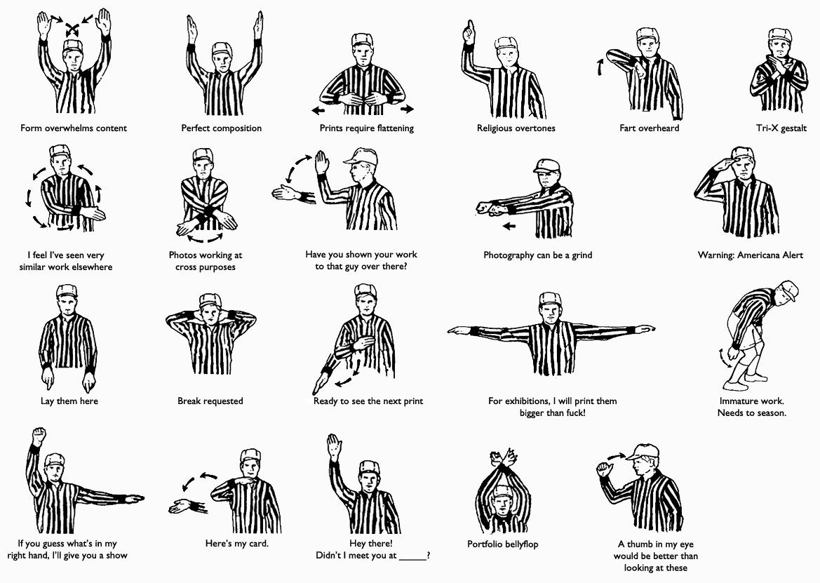 B Portfolio Review Referee Signals