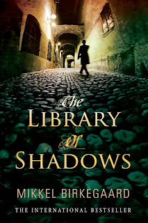 The Library of Shadows by Mikkel Birkegaard book cover