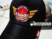 Topi Paskibra MEDAN Murah, Bisa Custom Logo Sendiri