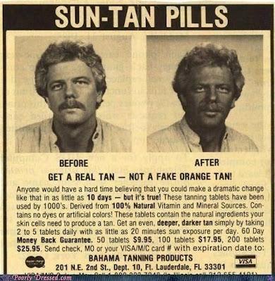 Sun-Tan Pills