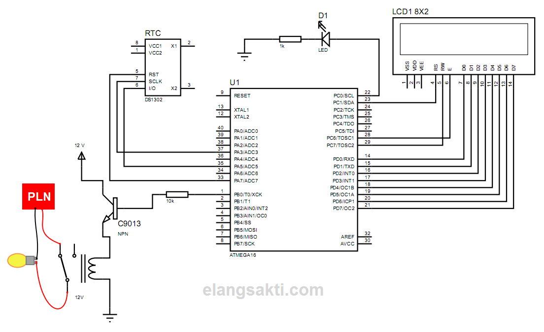 Wiring Lampu Auto Electrical Wiring Diagram