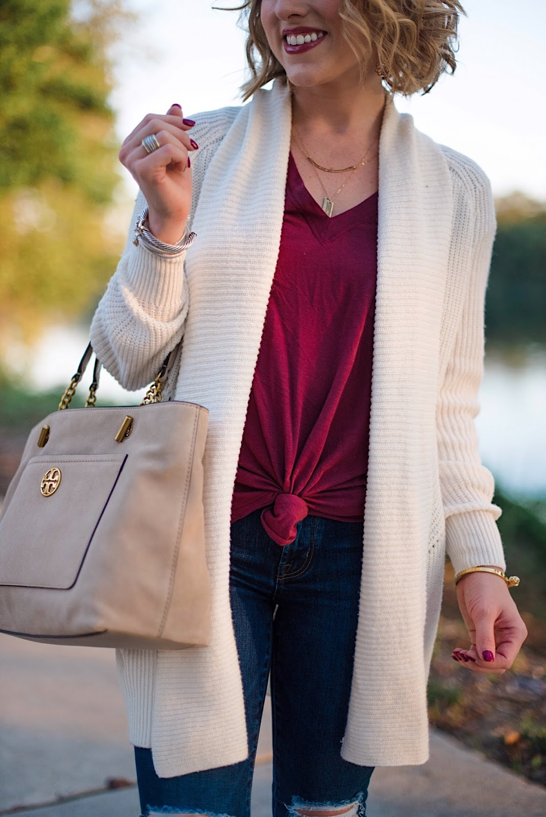 Cozy Cardigan for Fall - Something Delightful Blog