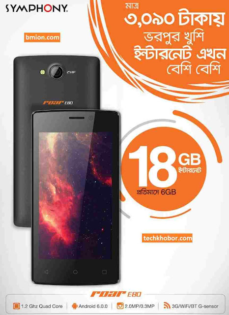 Banglalink-Symphoni-Roar-E80-3090Tk-With-18GB-Free-Internet