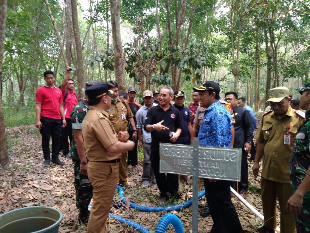 Tanggulangi Karhula Gubernur Kalteng Minta SDM dan Peralatan Ditingkatkan