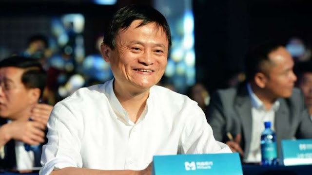 Jack Ma makes his first appearance since October