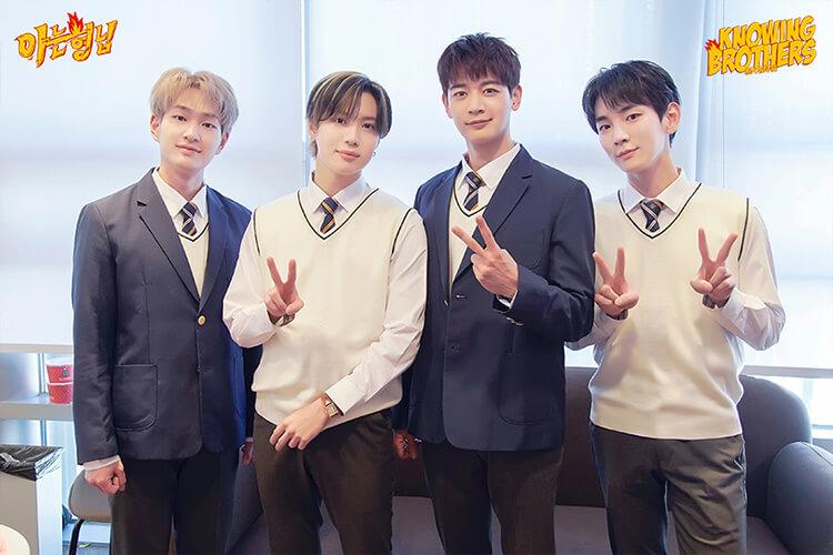 Nonton streaming online & download Knowing Bros eps 268 bintang tamu Shinee subtitle bahasa Indonesia