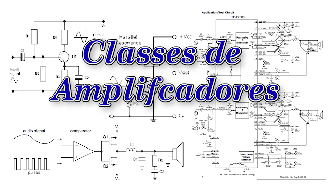 Classes de Amplificadores - As Principais Características dos Amplificadores de Áudio!