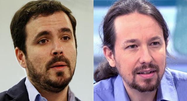 Garzón le pide a Iglesias que acepte un acuerdo programático con el PSOE sin entrar en el Gobierno