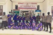 Puskesmas Tiongkranji melaksanakan vaksinasi dosis kedua kepada masyarakat umum