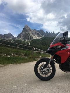 moto turismo dolomiti