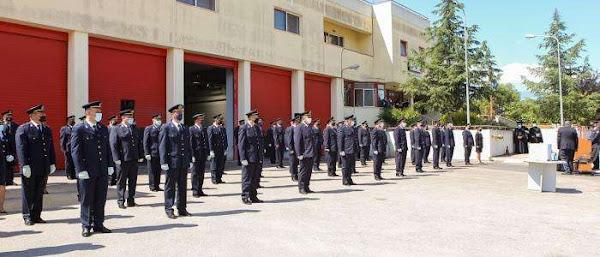 Λαμία: Τελετή αποφοίτησης του Ειδικού Τμήματος Πυρονόμων τάξεως 2021