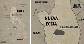Hapag Vicentico's Cabanatuan Location Map