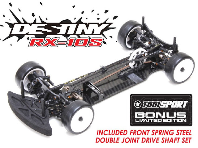 Destiny RX-10S 1/10 Competition Touring Car Kit