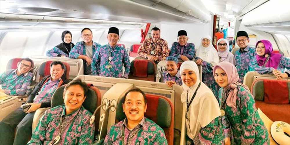 Menteri BUMN naik haji