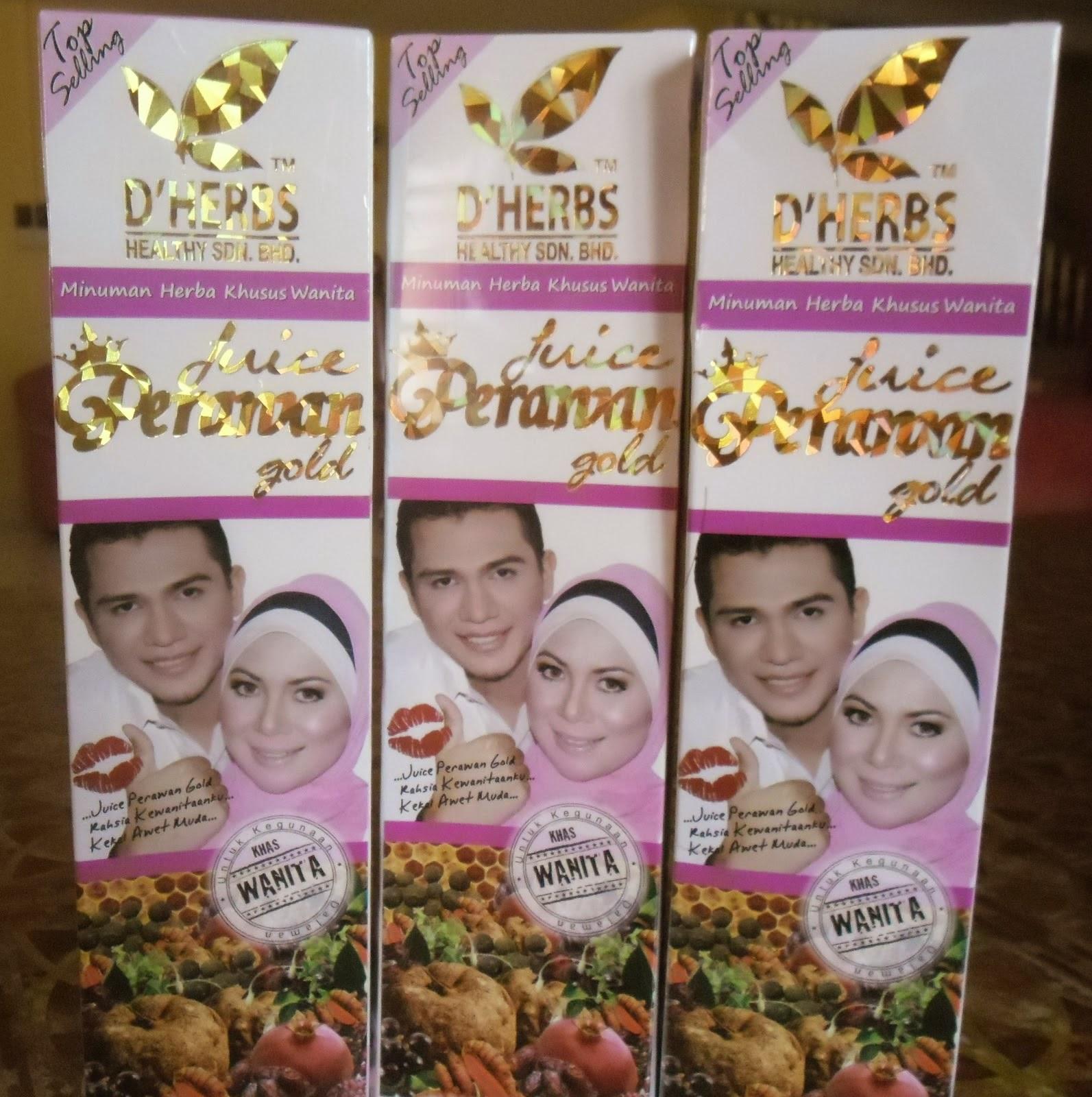 Qala Sakura D Herbs Jus Perawan Gold