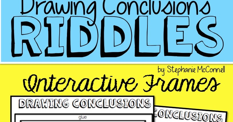 Drawing Conclusions Freebie - Principal Principles