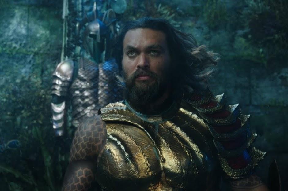 """Primeiro trailer de """"Aquaman"""" está cheio de grandiosidade atlante"""