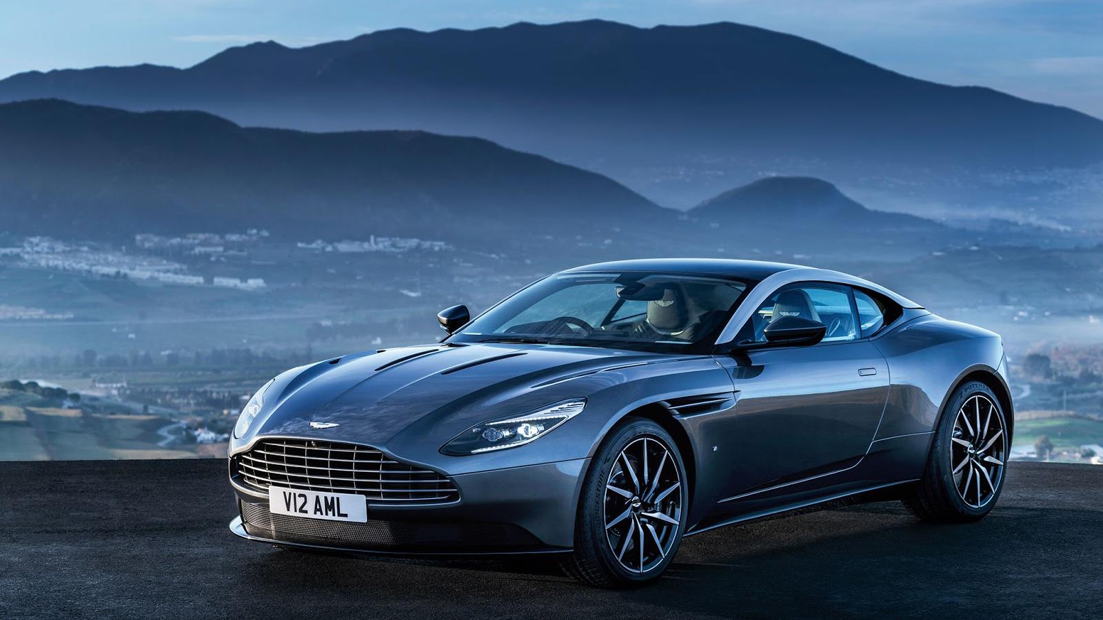 Genf 2016 Der Aston Martin Db11 In Voller Pracht Myauto24 Das Autoblog Im Internet Myauto24