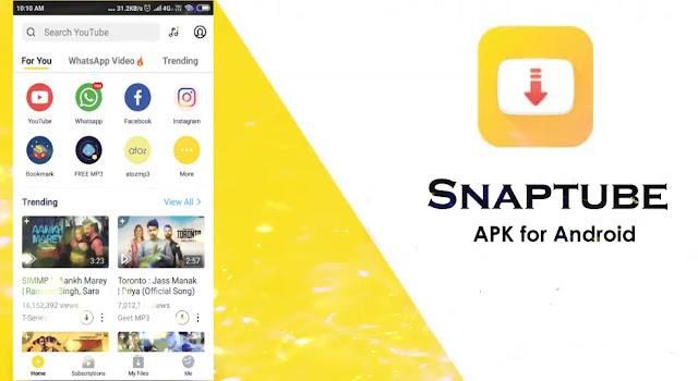 SnapTube - تنزيل الموسيقى ومقاطع الفيديو مجانًا