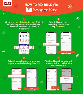 ShopeePay Bills Payment