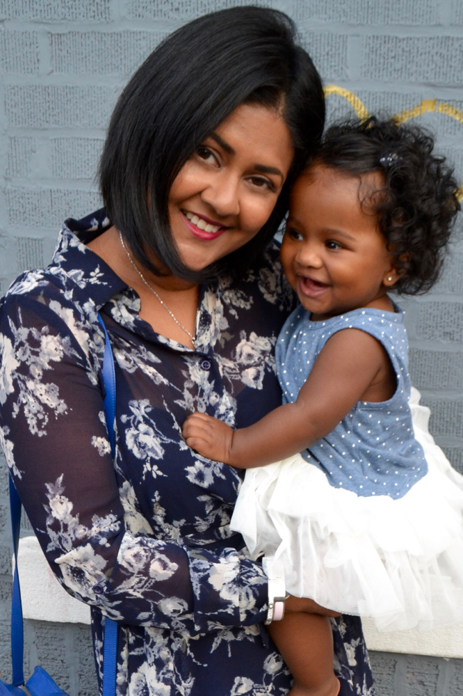 Mommy and Me, my little girl