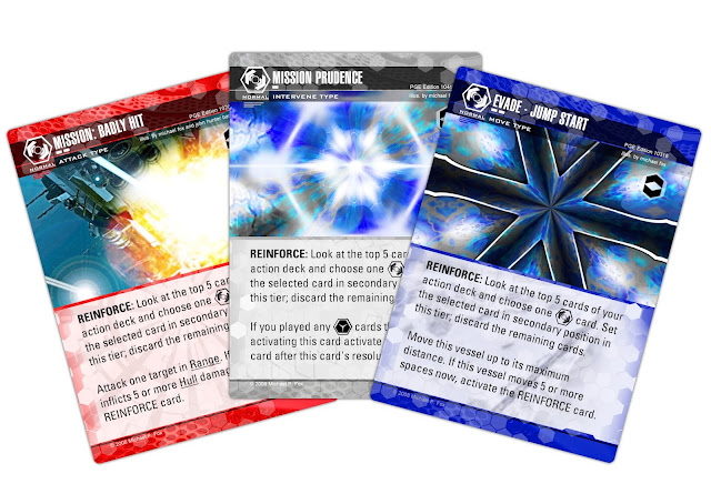 Dog Fight: Starship Edition reinforce cards