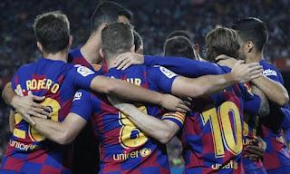 برشلونة يواجة خيتافى فى الدوري