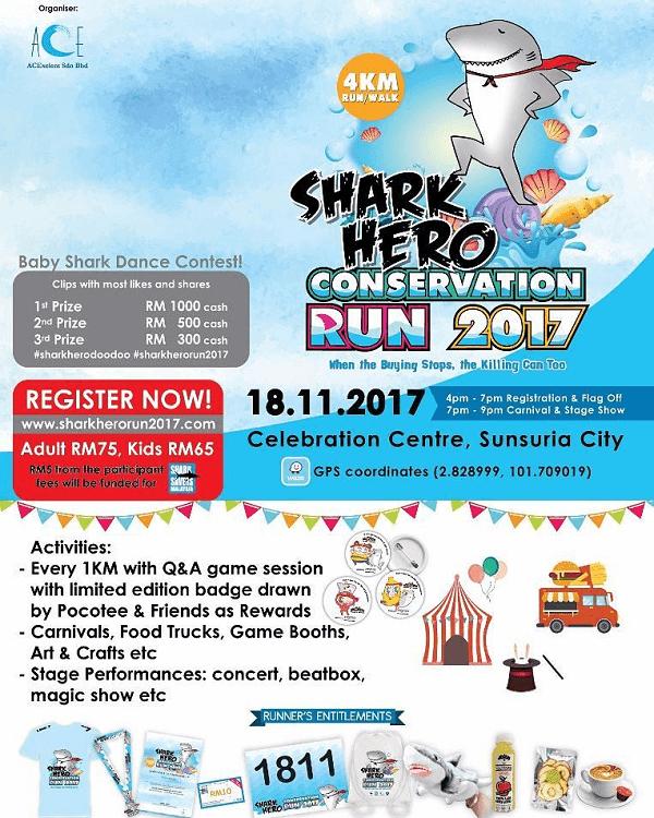 Shark Hero Conservation Run 2017,