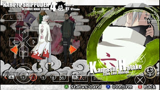 Naruto Final Mod Pack Texture [NSUNI] by VTstudio PSP Android