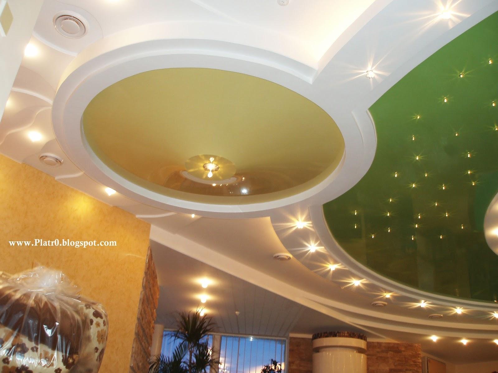 Plafond platre norvge  Dcoration Platre Maroc  Faux Plafond Dallearc platre