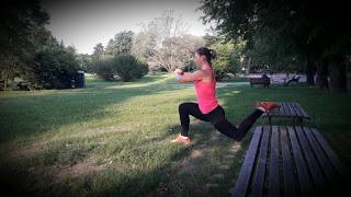 Léto a teplo venku přináší možnost využít venkovní cvičení