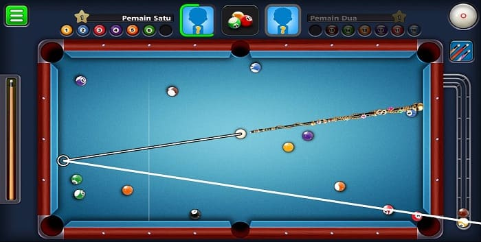 Cara Cheat 8 Ball Pool Garis Panjang Pantul di Android Anti Banned
