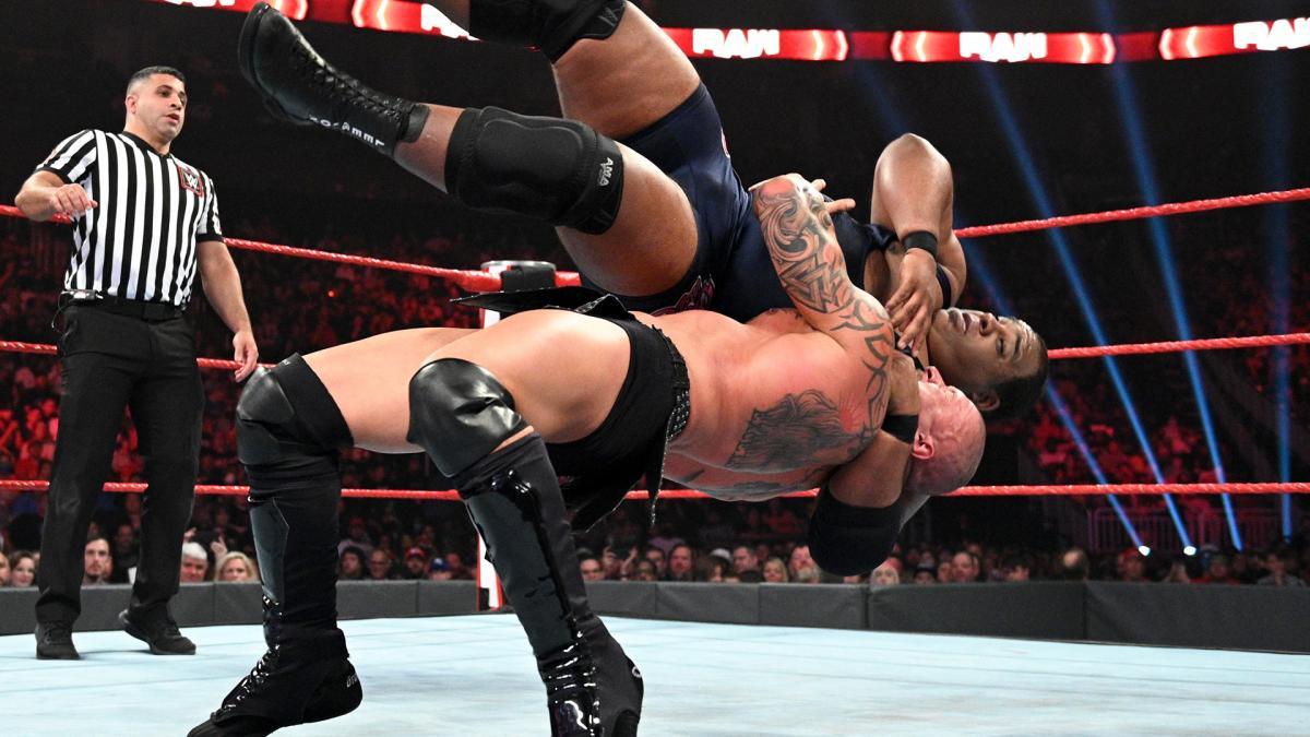 Keith Lee não está feliz com o tratamento que vem recebendo no WWE RAW