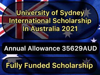 University of Sydney International Scholarships in Australia 2021| Free Scholarships 2021
